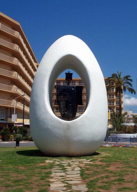 The Egg in San Antonio Ibiza a true landmark