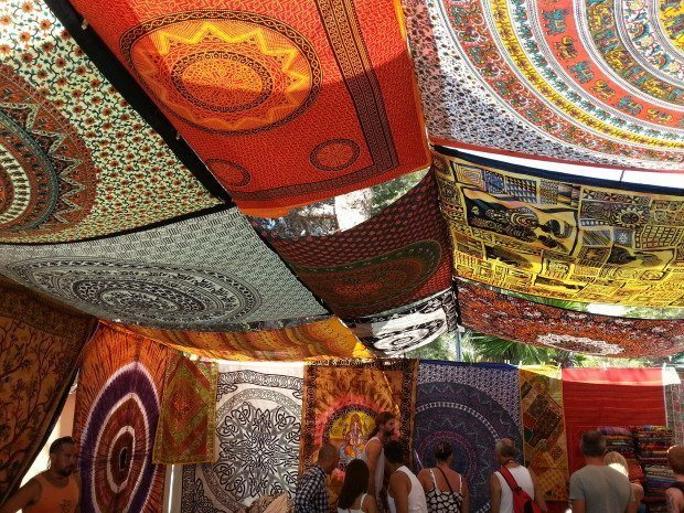 The Hippy Market at Club Punta Arbia Es Canna