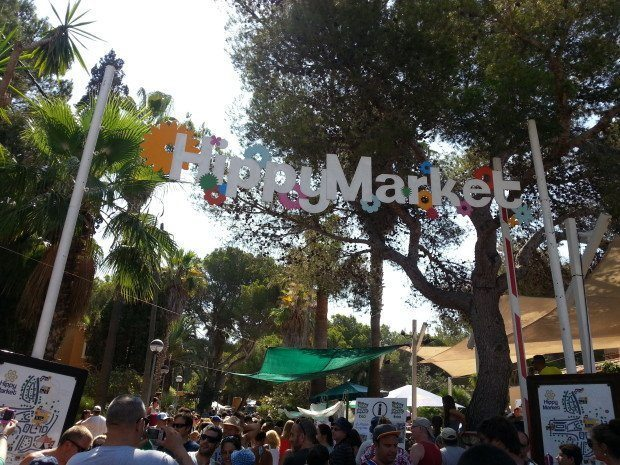 The Oldest and Biggest Hippy Market
