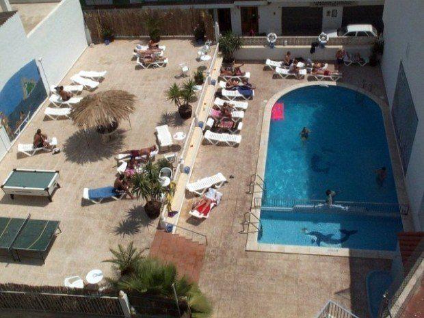Hostal Marino San Antonio Ibiza on our first trip to Ibiza