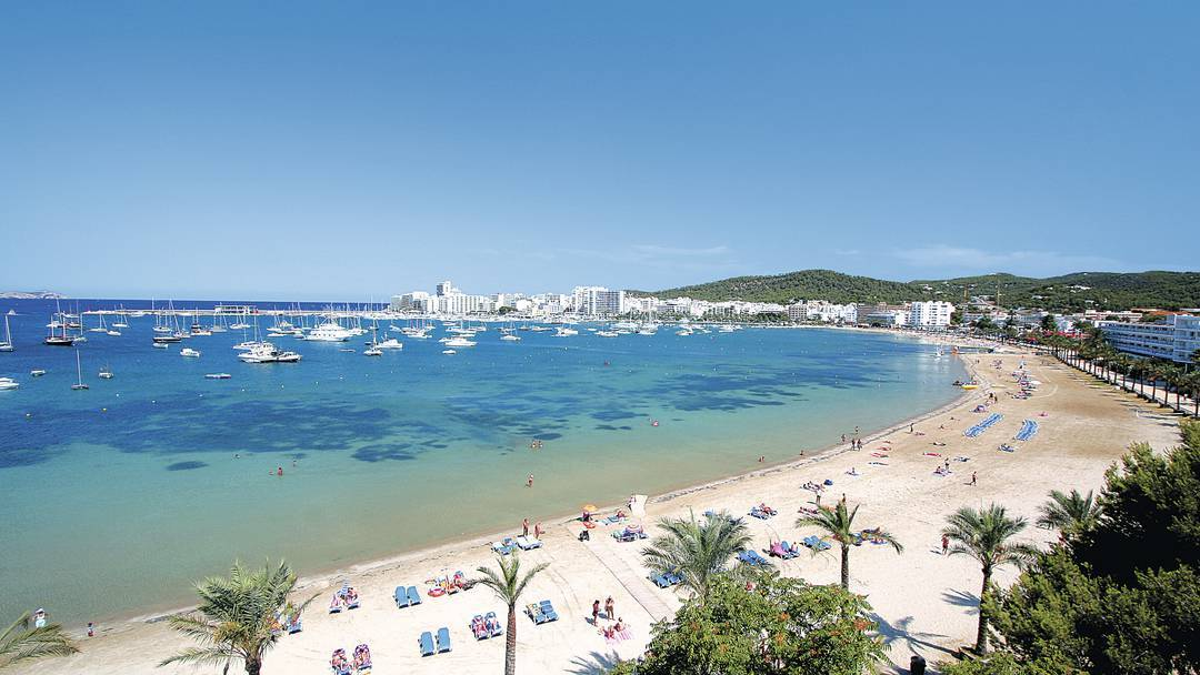 The Beaches Of San Antonio Ibiza The White Isle Ibiza Blog