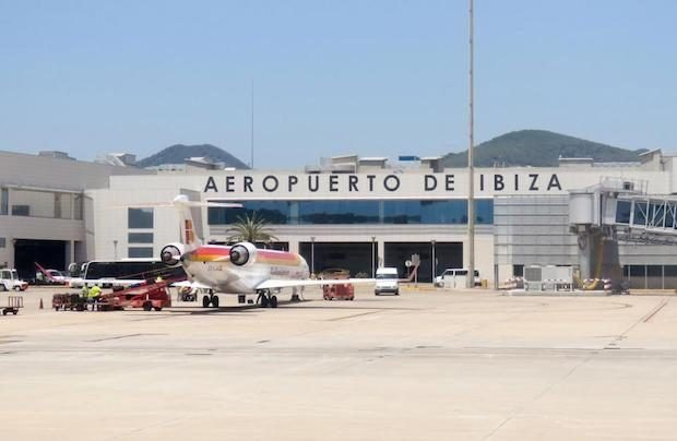 Flying via another airport maybe cheaper and give you a little longer in Ibiza