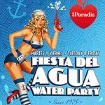Fiesta del Aqua Water Party Tuesday and Friday Es Paradis San Antonio Ibiza