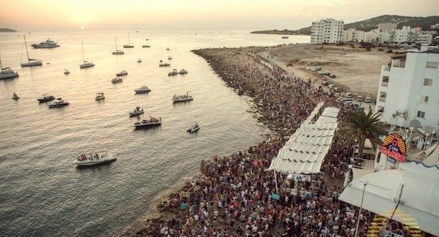 Cafe Mambo one of the iconic venues to visit on everyone Ibiza trip