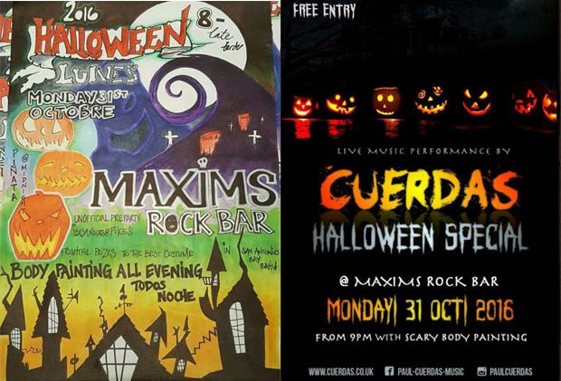 Maxim's Rock Bar Halloween Special