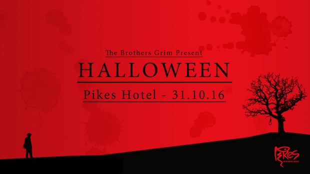 The Brother Grim present Halloween at Pikes