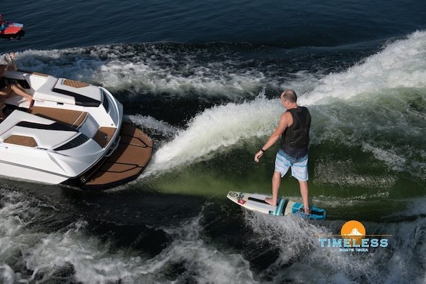 From beginners to pro Wake on Ibiza has packages to suit all ages and abilities