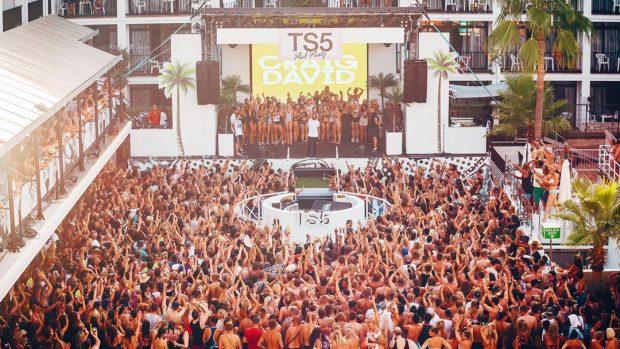 Craig David TS5 Pool Party at Ibiza Rocks Hotel throughout 2017