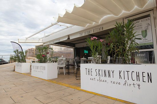 The new Skinny Kitchen beside the marina San Antonio Ibiza
