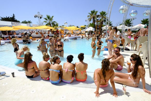 Poolside Sessions Ocean Beach Ibiza