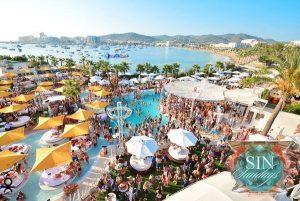 Ocean Beach Ibiza has been rebranded O Beach Ibiza