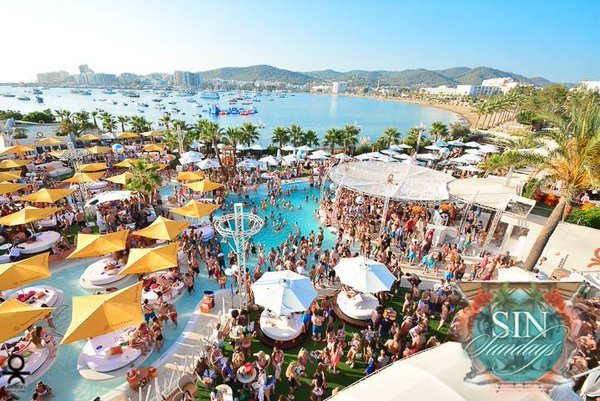Ocean Beach Ibiza has been rebranded O Beach Ibiza