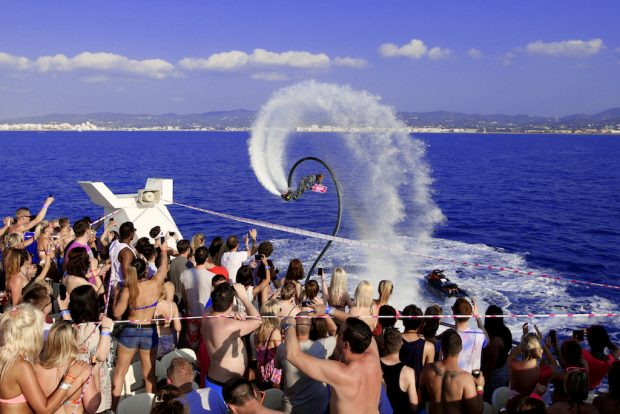 Pukka Up Boat Party, Tuesday and Saturday San Antonio Ibiza