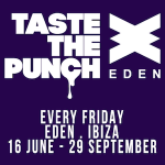 Taste The Punch Eden Ibiza
