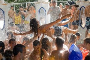Fiesta del Agua Water Party Friday at Es Paradis