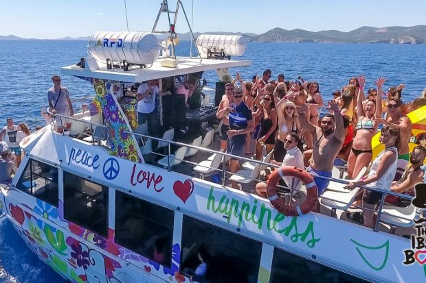 The IBZ Boat Party sailing this summer from Playa d'en Bossa