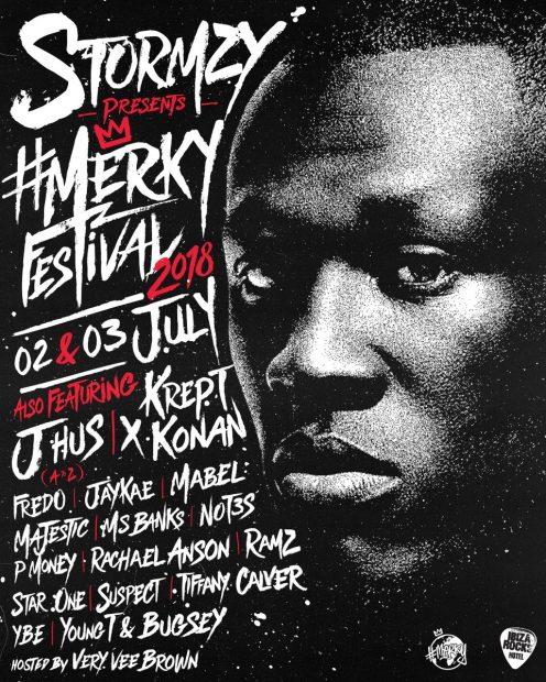 MERKY Festival by Stormzy Ibiza Rocks 2018 Line ups