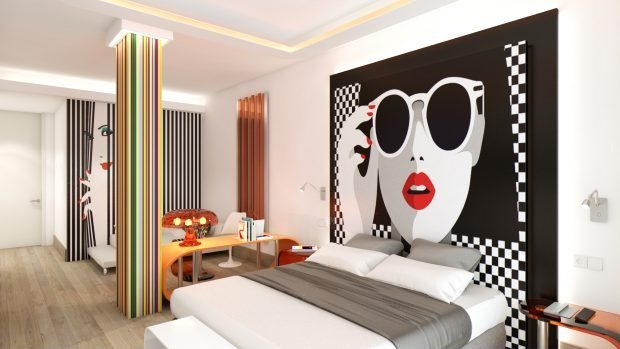 THB Naeco Ibiza with its funky room designs
