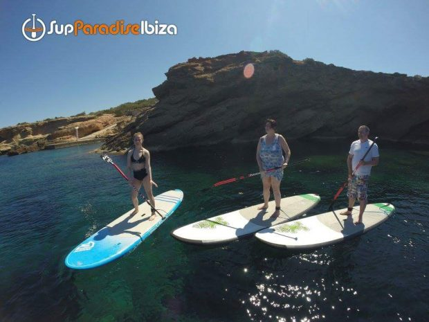 Paddle Boarding with SUP Paradise Ibiza