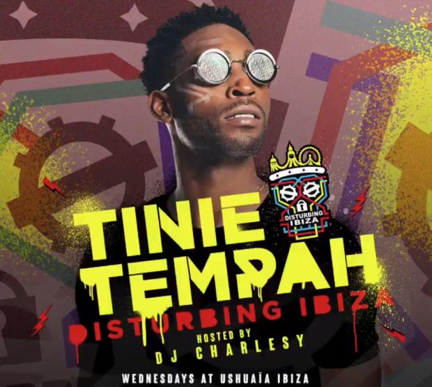 Tinie Tempah Disturbing Ibiza Ushuaia