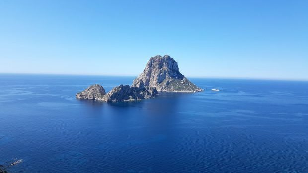 The iconic and magical island of Es Vedra Ibiza