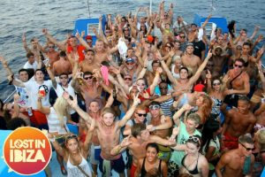 Lost in Ibiza Boat Party San Antonio Wednesday