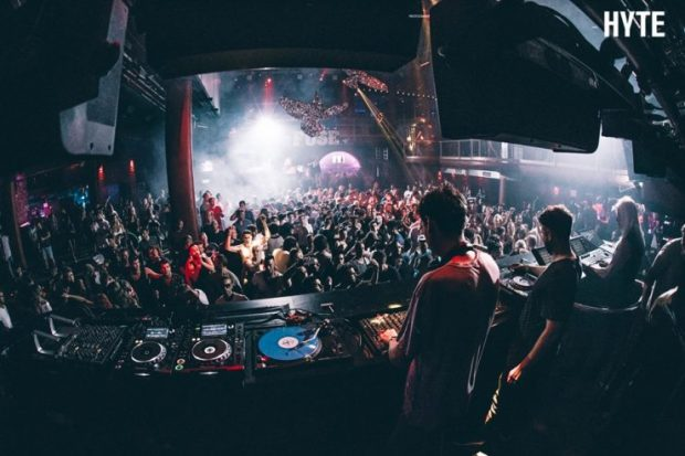 FUSE at Amnesia Ibiza as part of HYTE Wednesdays in 2017
