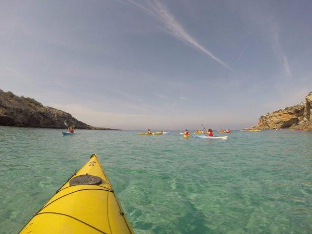 Kayaking with Kayak Ibiza