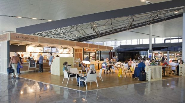 Santagloria at Barcelona airport soon to be opened in Ibiza airport