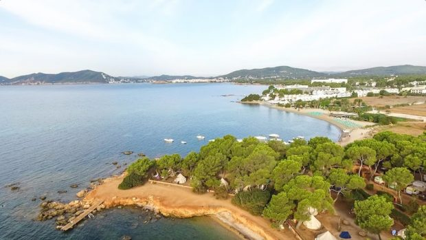 The ultimate Ibiza camping party on the white isle
