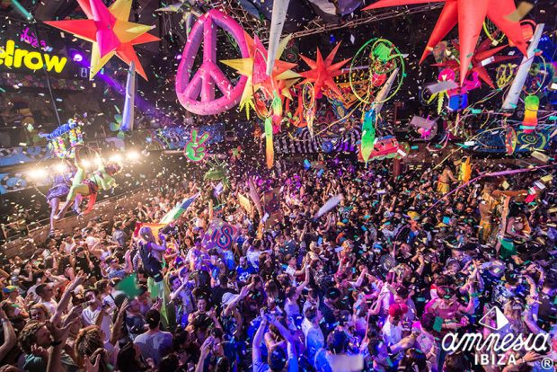 Elrow at Amnesia Ibiza the craziest party known