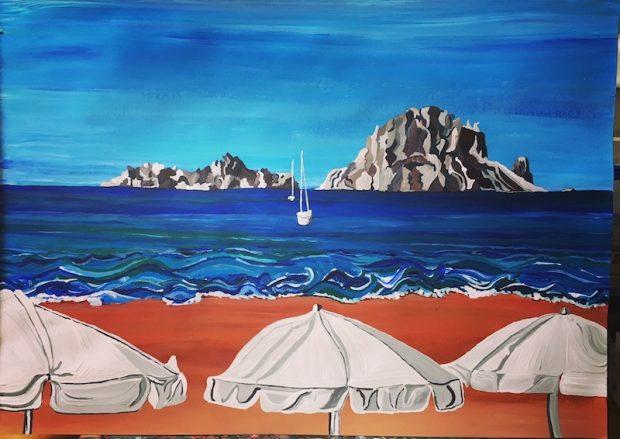 The mystical & magical rock of Es Vedra by Sarah Milburn