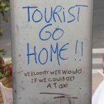 Could the anti tourist feeling solve itself in Ibiza