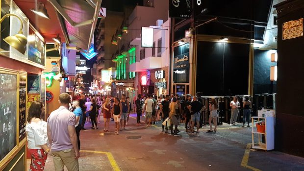 What is the solution to the problems of the West End San Antonio Ibiza?