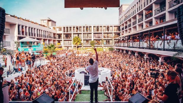Craig David TS5 Pool Party Ibiza Rocks Hotel 2019