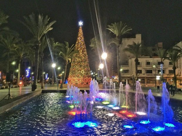 Christmas in Ibiza is a wonderful relaxed family time of year
