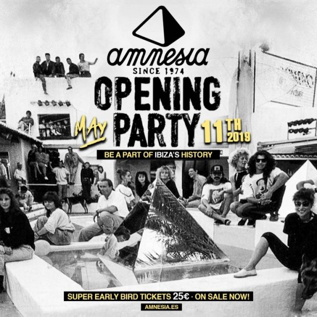 amnesia opening party 2019