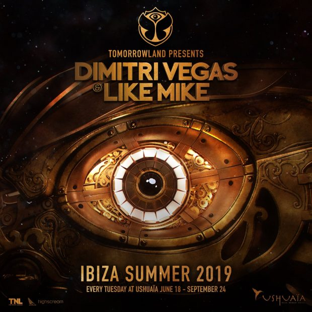Dimitri Vegas & Like Mike Ushuaïa 2019