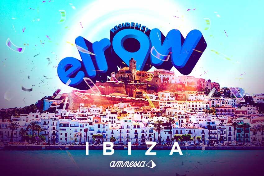 Elrow Amnesia Ibiza 2019 every Saturday