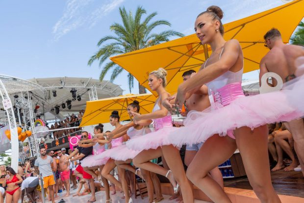 Pool party O Beach Ibiza 2019 on Fridays