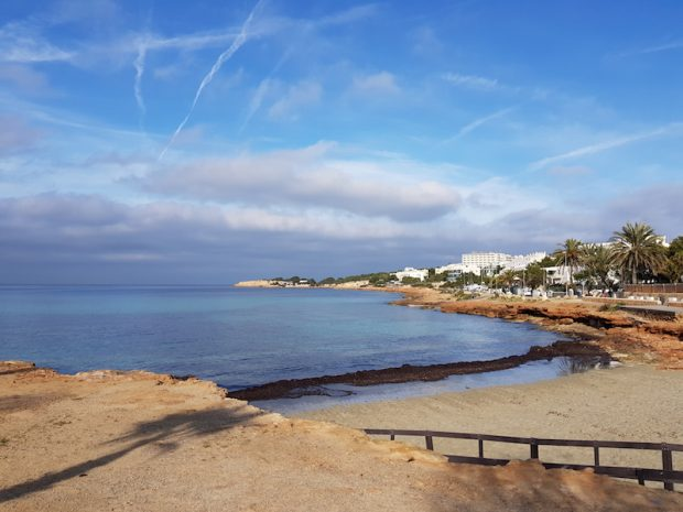 San Antonio Ibiza in winter is truly beautiful.