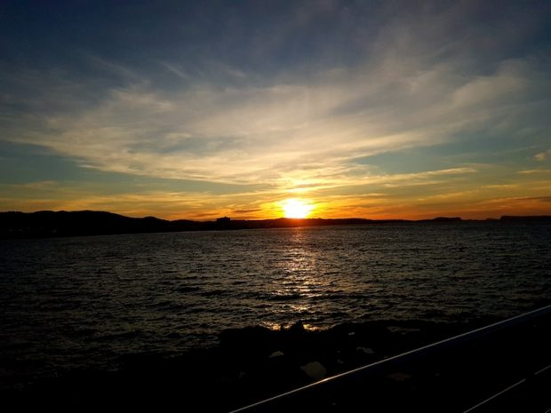 The winter sunsets in Ibiza are still as spectacular as the summer.