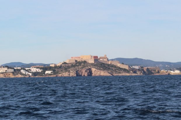 Passing by Dalt Villa and Ibiza Town we saw much so much of the island