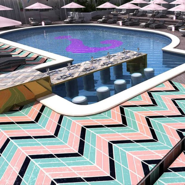 The Wi-Ki-Woo Hotel pool area shades will be a must