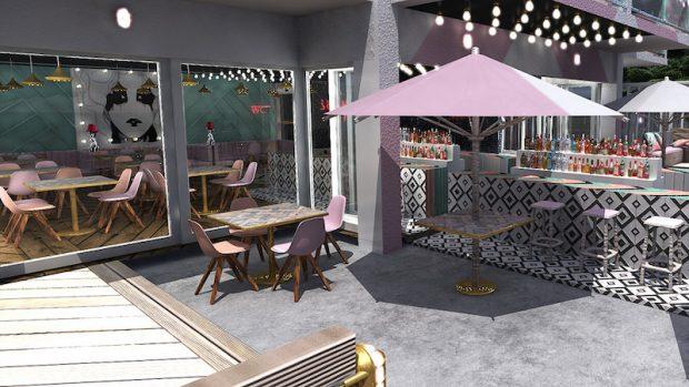 The Wi-Ki-Woo Hotel Terrace and Restaurant