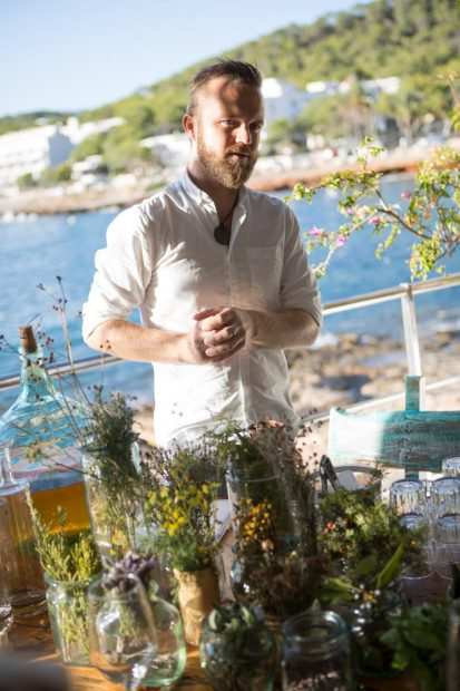 Philip Thomas our Hierbas guide and founder of The Drinks Workshop Ibiza