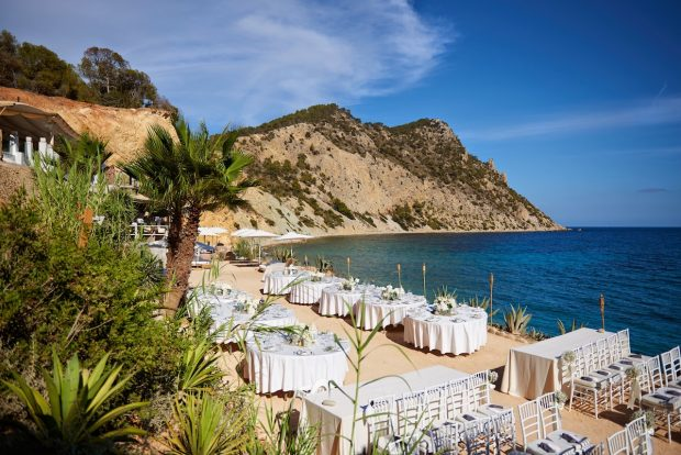Amante the wedding venue with the perfect Ibiza view