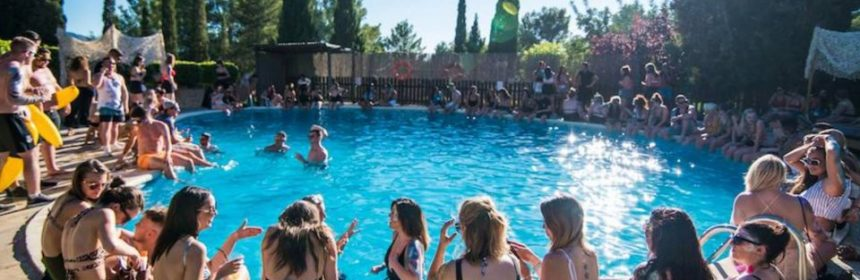 Ibiza Pool Party Benimussa Park on Saturday this summer