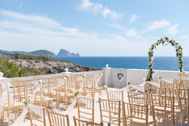 Elixir Ibiza with its breathtaking backdrop for your special day