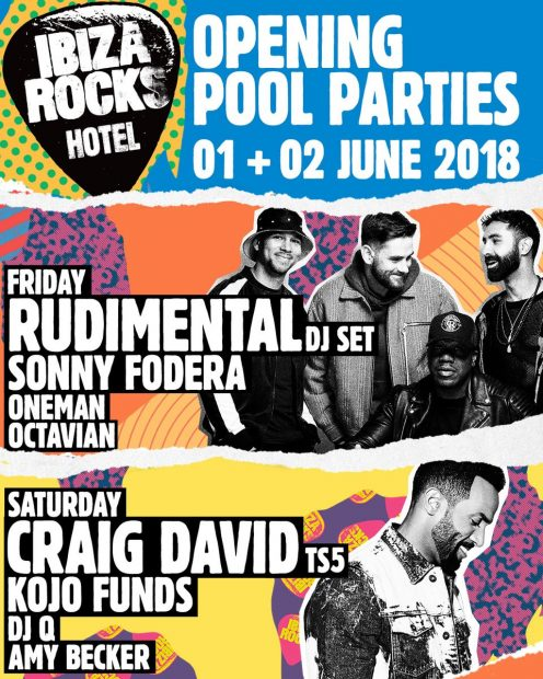 Ibiza Rocks Opening Pool Party